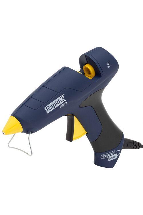 Pištola za vroče lepljenje Rapid CG270 (premer lepilnega vložka: 12 mm, 180–200 °C, 250 W)