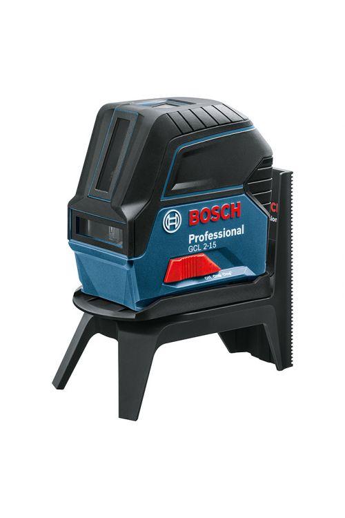 Kombinirani laser BOSCH Professional GCL 2-15 (natančnost: ± 0,3 mm/m, delovno območje: pribl. 15 m)