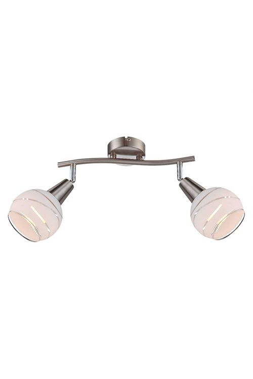 Letev z LED-svetilkami Globo Elliott (2 x 4 W, 28 x 21 cm, toplo bela svetloba)