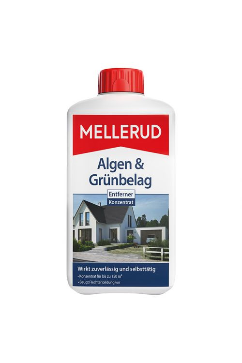 Sredstvo za odstranjevanje alg in zelenih oblog Mellerud (1 l, plastenka)