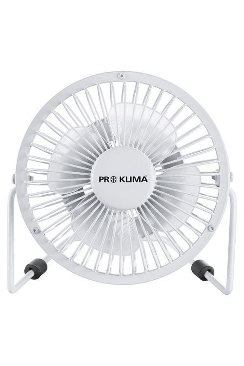 Namizni ventilator Proklima (bel, premer: 15 cm, 2,3 W)
