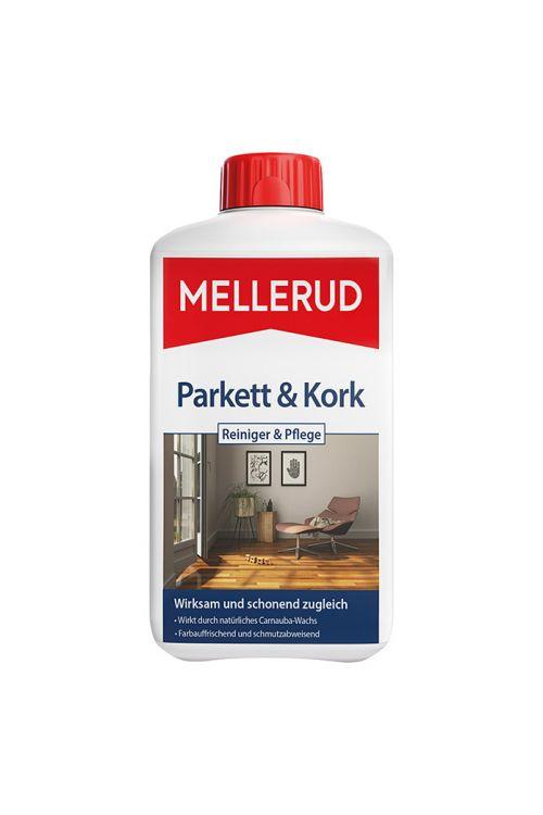 Čistilo in loščilo za parket Mellerud (1 l, plastenka)