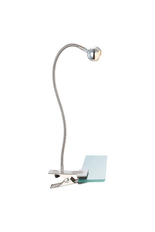LED svetilka s sponko Globo Serpent (3 W, višina: 48 cm, 150 lm, topla bela svetloba)