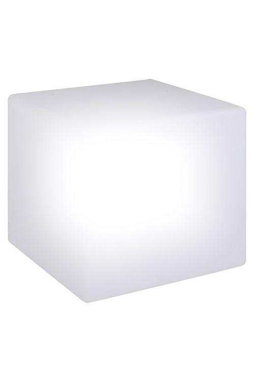 LED solarna svetilka v obliki kocke (2 x 0,5 W, dolžina stranice: 30 cm, z zemeljskim klinom, IP67)
