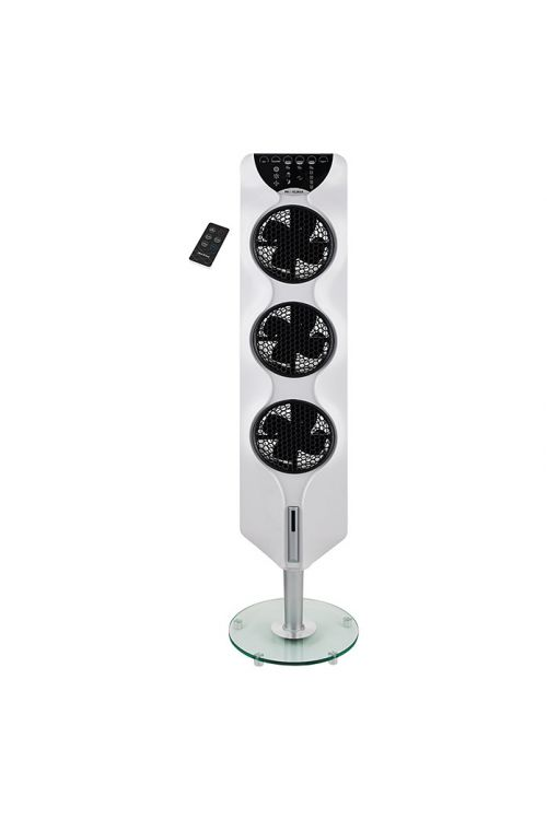 Stolpni ventilator Proklima (bel, višina: 112,4 cm, 90 W)