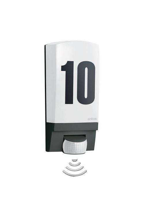 Zunanja senzorska svetilka Steinel L 1 (60 W, 11 x 25,5 x 11 cm, črna, IP44)