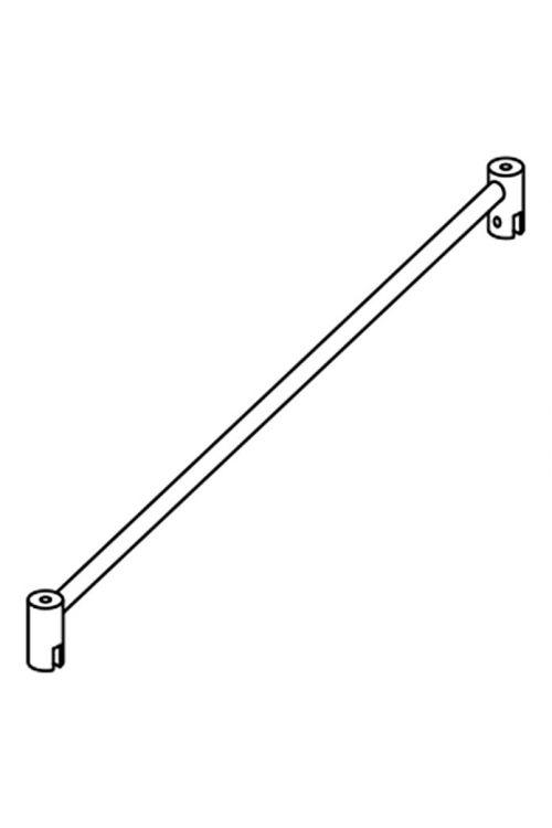 Komplet za stabilizacijo Camargue Vario S30 (100 cm, krom, za uporabo pri U-kabinah)