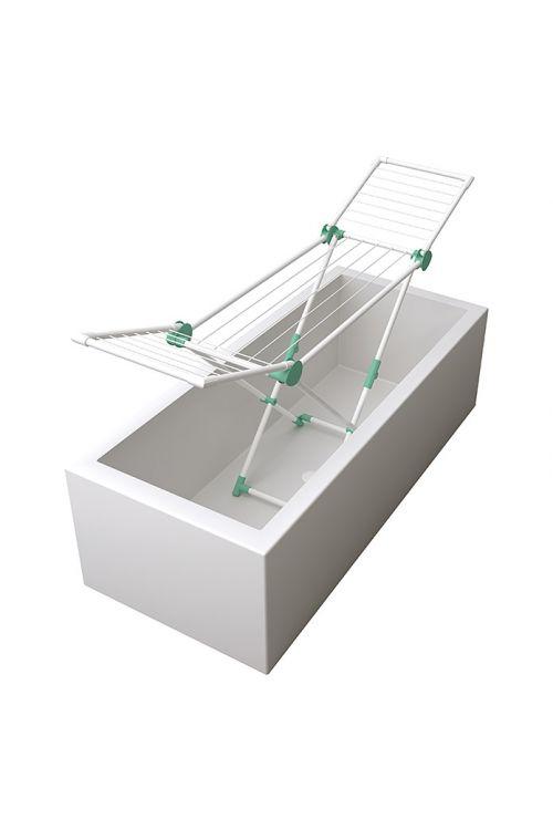 Sušilnik perila Cool 120 (dolžina vrvi za obešanje perila: 12 m, bel/mint)