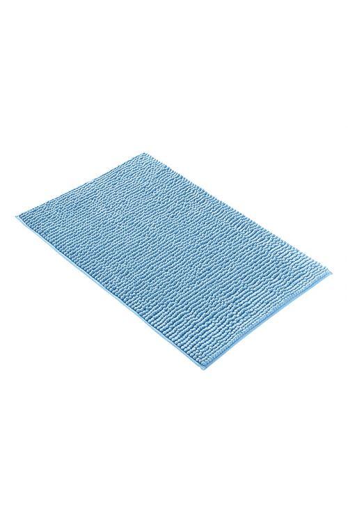 Tepih za kopalnico Camargue Zottel (50 x 80 cm, moder, mikrovlakna)