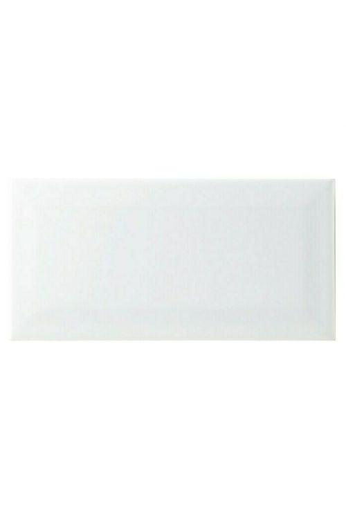 Stenska ploščica Metro (10 x 20 cm, bela, sijaj)