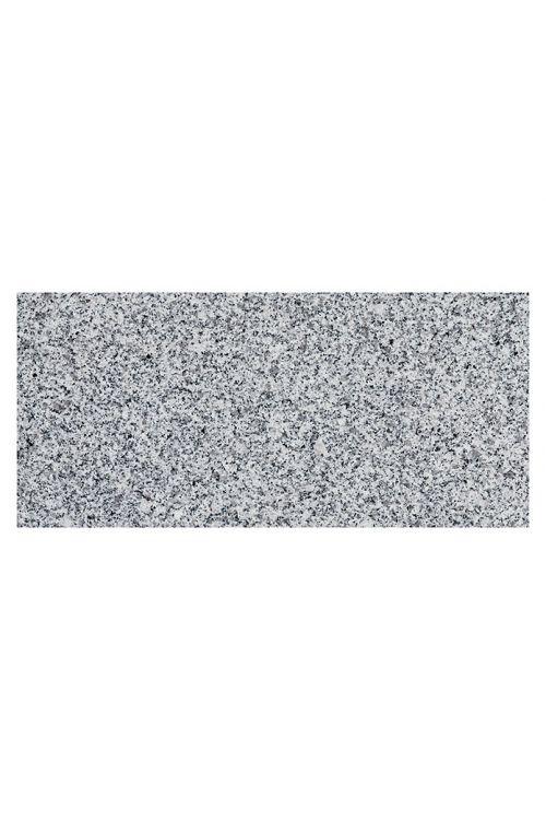 Ploščica granit Bianco Cordo (30,5 x 61 cm, siva, ščetkana)