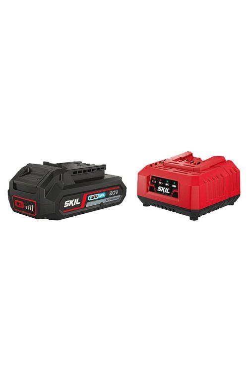 Set polnilec + baterija SKIL 3110AA (20 V, 2.5 Ah)