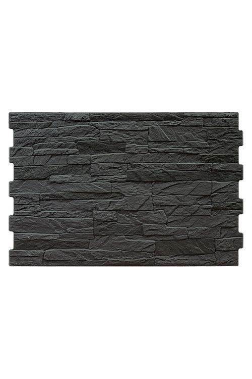 Stenska obloga Aitana (33,5 x 50 cm, črna, glazirana)