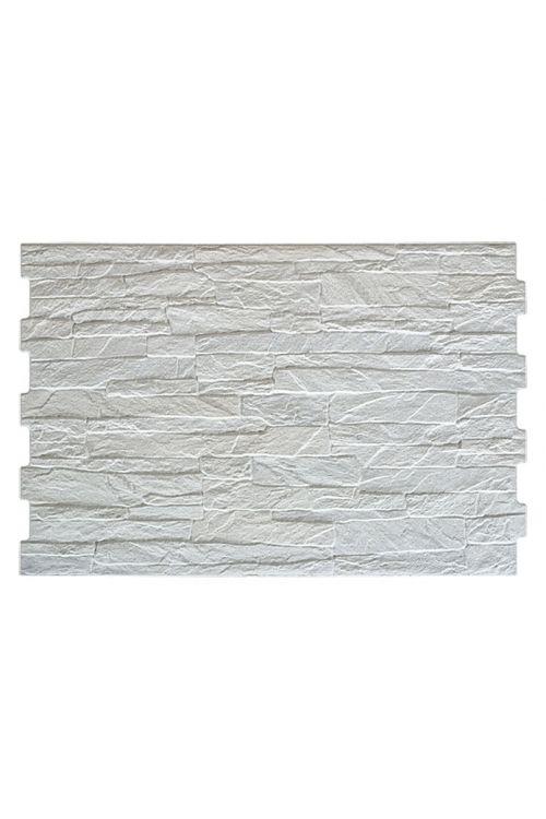 Stenska obloga Aitana (33,5 x 50 cm, bela, glazirana)