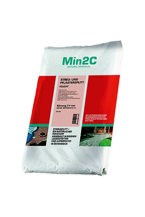 Pesek za posipavanje in tlakovanje (25 kg, antracitna/siva, granulacija: 2–4 mm)