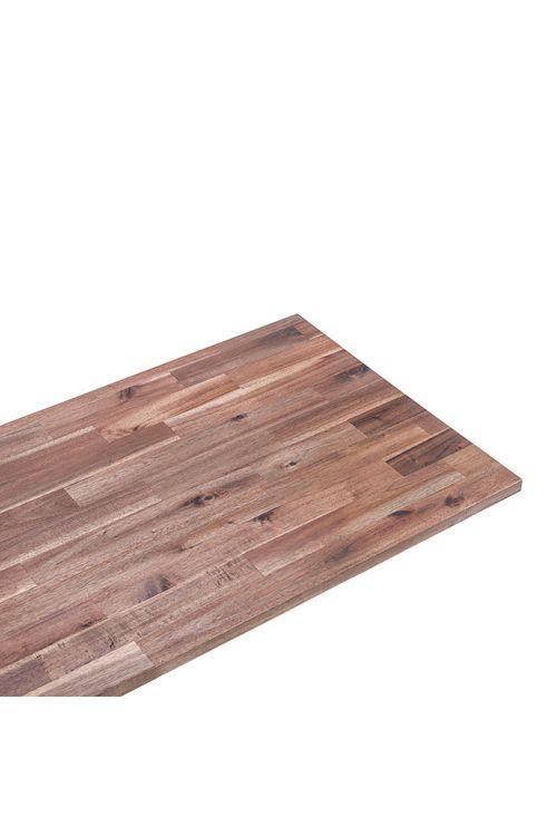 Plošča iz masivnega lesa (akacija, 220 x 60 x 2,6 cm)