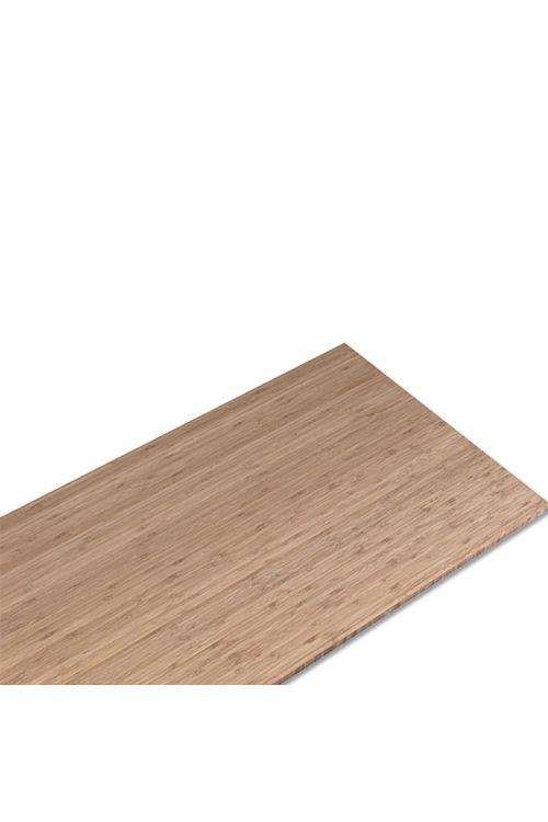 Plošča iz masivnega lesa (bambus, 240 x 60 x 2,6 cm)