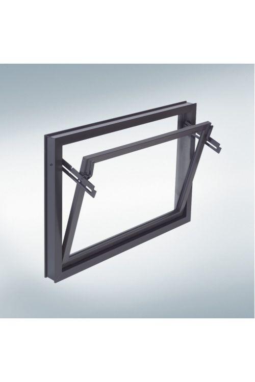 Večnamensko vrtljivo okno (pvc, 80 x 40 cm)