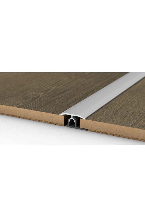 Prehodni profil Küberit (srebrna, 2,7 m x 34 mm, vrsta montaže: vijaku, brez lukenj)