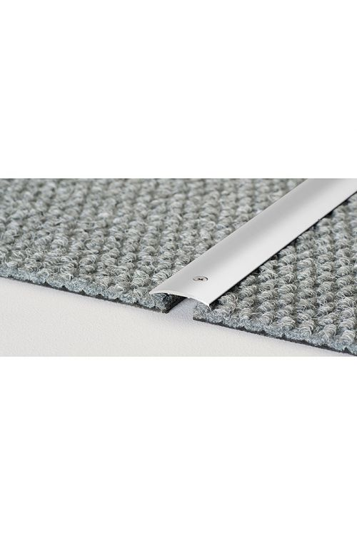 Prehodni profil LOGOCLIC (srebrna, 2,7 m x 30 mm x 4 mm, vrsta montaže: vijaki)