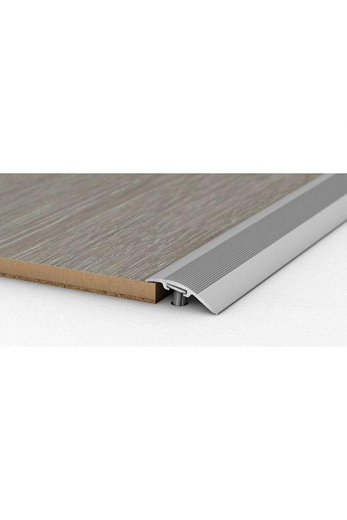 Prilagodljivi profil LOGOCLIC (srebrna, 0,9 m x 38 mm, vrsta montaže: vložki iz umetne mase)