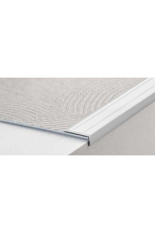 Kotni profil LOGOCLIC (srebrna, 1 m x 24,5 mm x 10 mm, vrsta montaže: samolepilna)