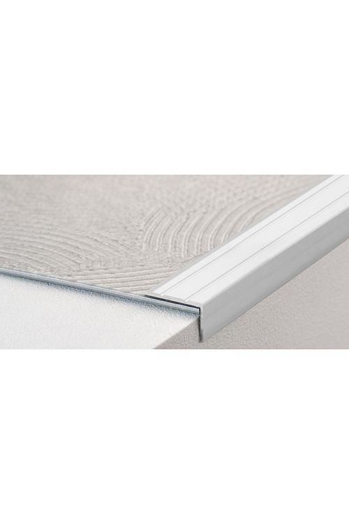 Kotni profil LOGOCLIC (srebrna, 1 m x 24,5 mm x 20 mm, vrsta montaže: samolepilna)