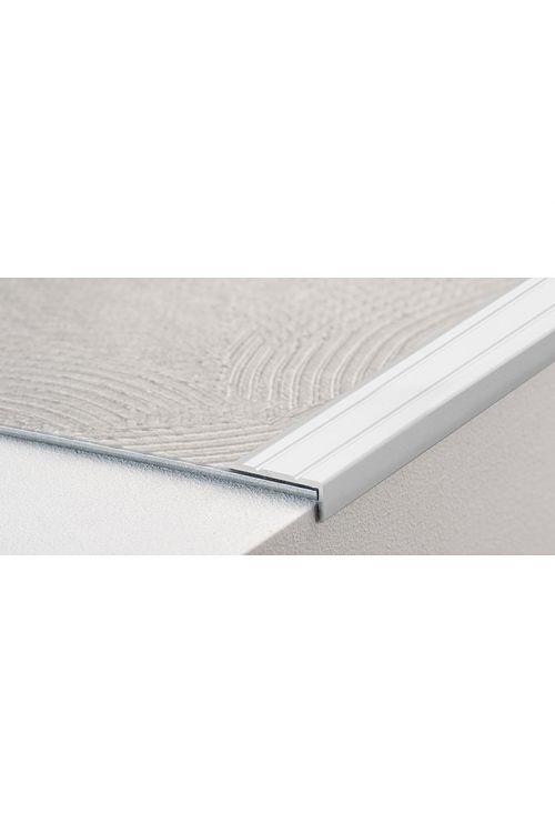 Kotni profil LOGOCLIC (srebrna, 2,7 m x 24,5 mm x 10 mm, vrsta montaže: samolepilna)