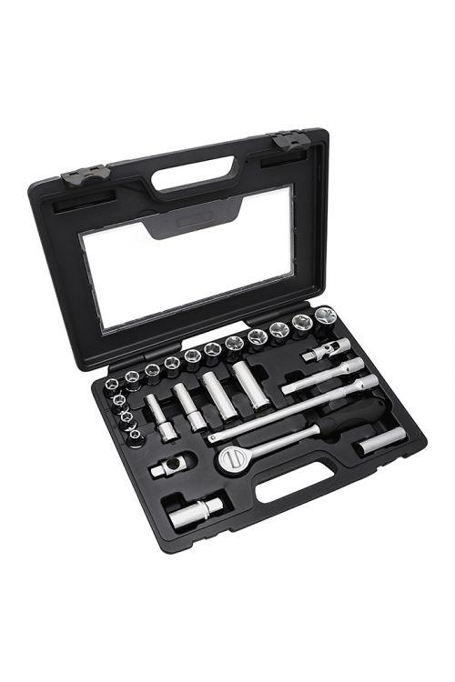 Komplet nasadnih ključev Alpha Tools WBL (25-delni)