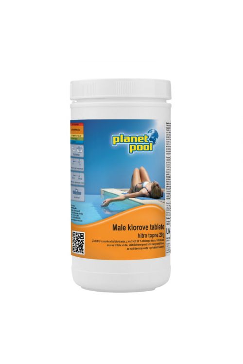 Hitrotopne male klorove tablete (1 kg)
