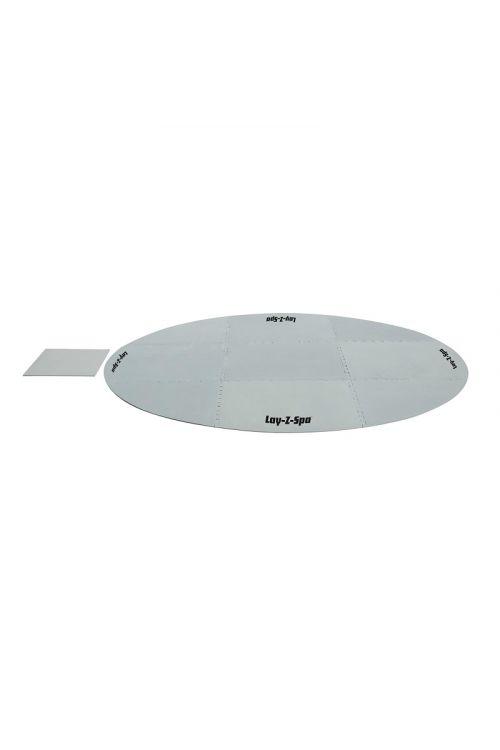 Zaščitna podloga za bazen Lay-Z-Spa (211 cm, umetna masa, siva)