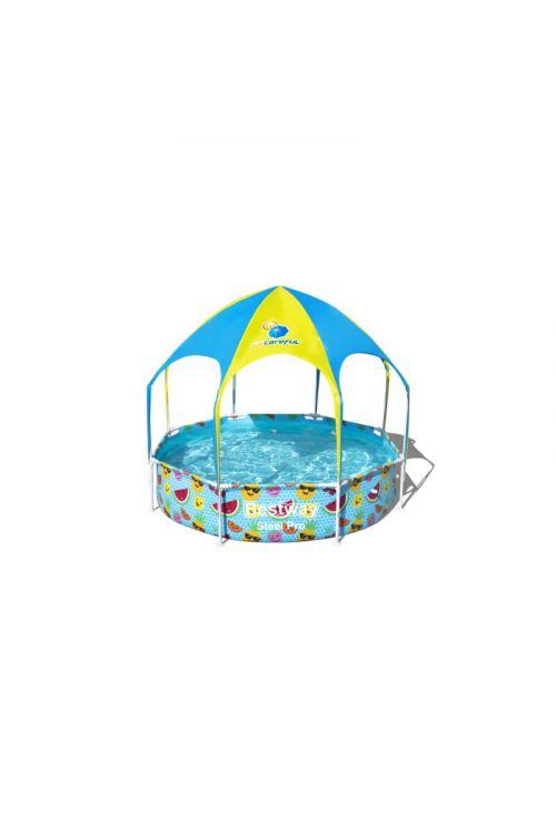 Otroški bazen Bestway Splash&Shade (Ø 244 x g 51 cm, 1.688 l, z UV zaščito)