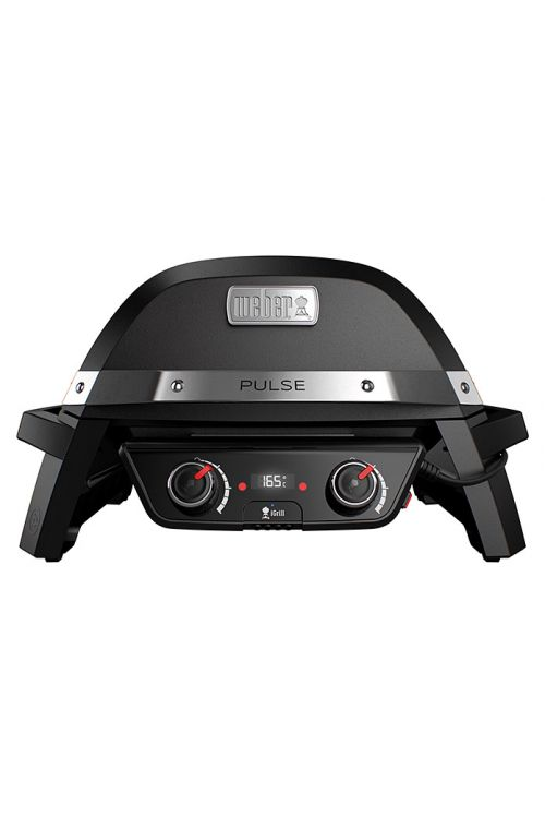 Električni žar WEBER Pulse 2000 (2,2 kW, rešetka 49 x 39 cm, aluminij, črni)