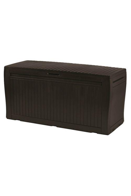 Zaboj za shranjevanje blazin KETER Comfy (v 57 x š 116,7 x g 44,7 cm, 270 l, plastika, rjav)