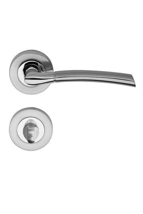 Kljuka za vrata Vovko V-Line Dream (WC, nerjavno jeklo, debelina vrat: 35–45 mm)
