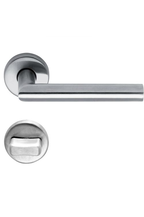 Kljuka za vrata Lienbacher Metro (WC, nerjavno jeklo, debelina vrat: 35–45 mm)