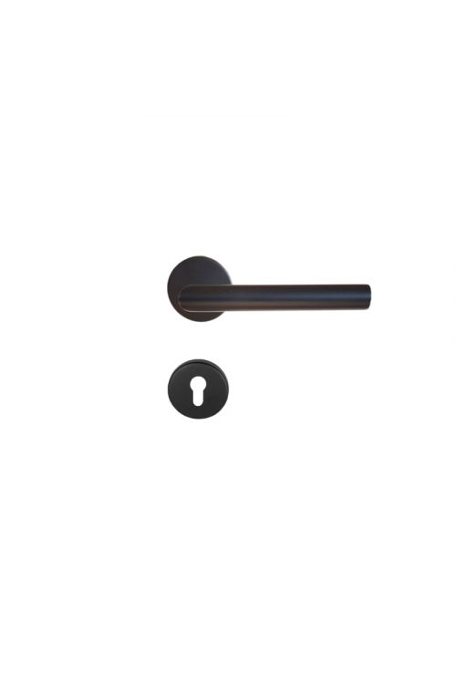 Kljuka za vrata Vovko Roxy (cilinder, nerjavno jeklo, maks. debelina vrat: 44 mm)
