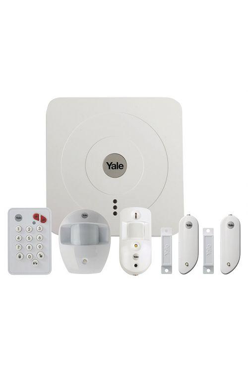 Alarmni set Yale Smart Living SR-3200I (2x kontakt za okna in vrata, alarmna naprava, senzor gibanja)