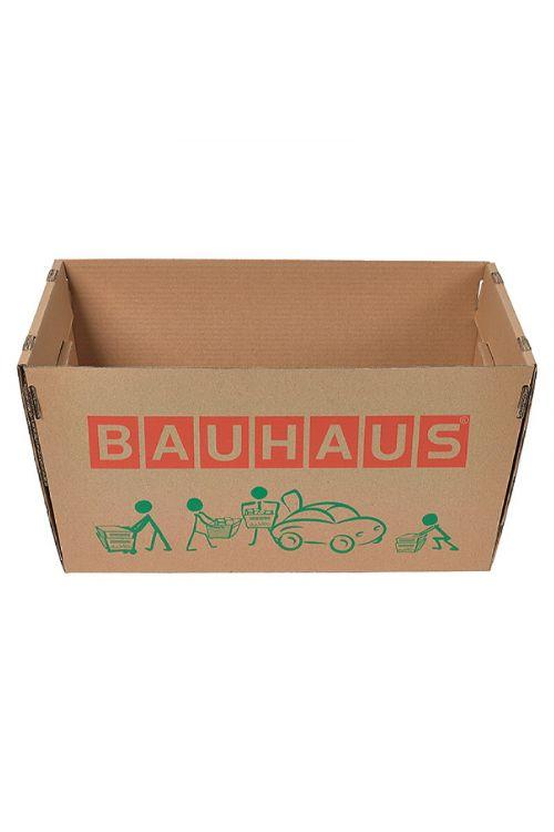 Nakupovalna kartonska škatla BAUHAUS (46,9 x 26,4 x 26 cm, nosilnost: 30 kg)