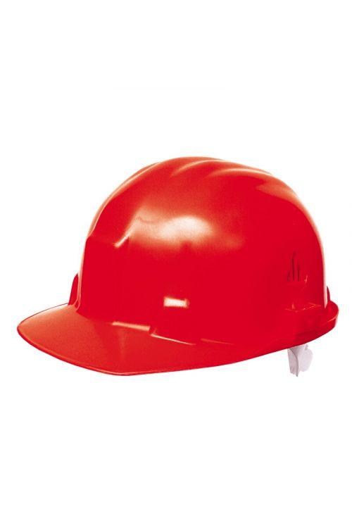 Delovna čelada (rdeče barve)