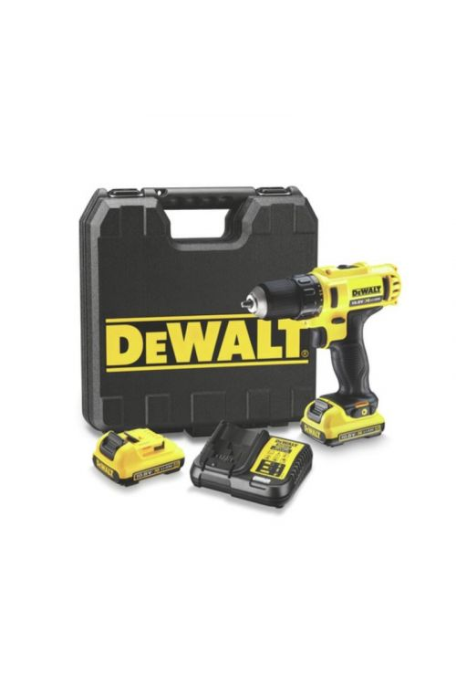 Akumulatorski vijačnik DeWALT DCD710D2 (10,8 V, 2 x Li-Ion baterija 2,0 Ah, 0–1.500 vrt./min)