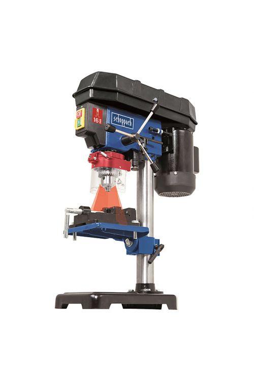Namizni vrtalni stroj Scheppach DP16VLS (500 W, 600–2.600 vrt./min, dolžina raztega vrtalne glave: 3–16 mm)