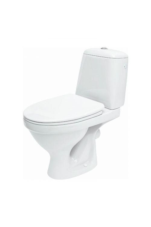 WC monoblok Cersanit Roma (odtok v steno, s kotličkom in WC desko)