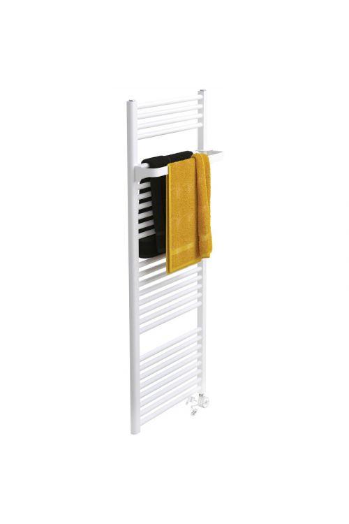 Kopalniški radiator z električnim grelnikom in obešalnikom Bial Alta (45 x 137,4 cm, 600 W, bela, set)