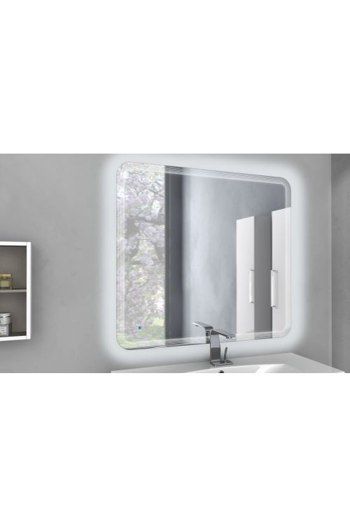 LED ogledalo Touch (100 x 90 cm)