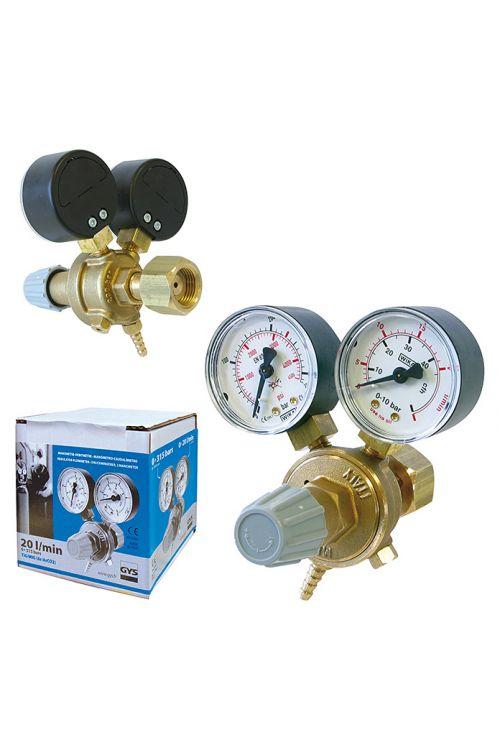 Reducirni ventil GYS (2x manometer, 20 l/min)