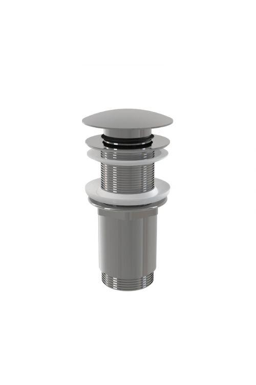 """Zgornji del sifona (5/4"""", pop-up, krom, za PVC in steklene umivalnike)"""
