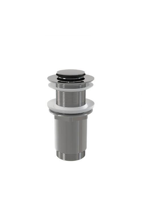 """Zgornji del sifona (5/4"""", pop-up, mali čep, krom, za PVC in steklene umivalnike)"""