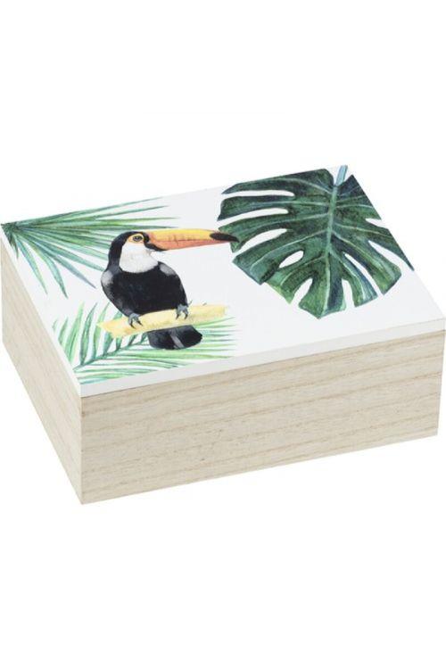 Škatla za shranjevanje Wnko Tucan M (20 x 15 x 8 cm, MDF)