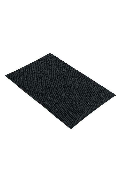 Tepih za kopalnico Camargue Zottel (50 x 80 cm, črn, mikrovlakna)